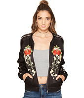 Blank NYC - Embroidred Silk Bomber in Own The Night