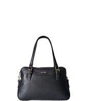 Calvin Klein - Quilted Leather Pebble Satchel
