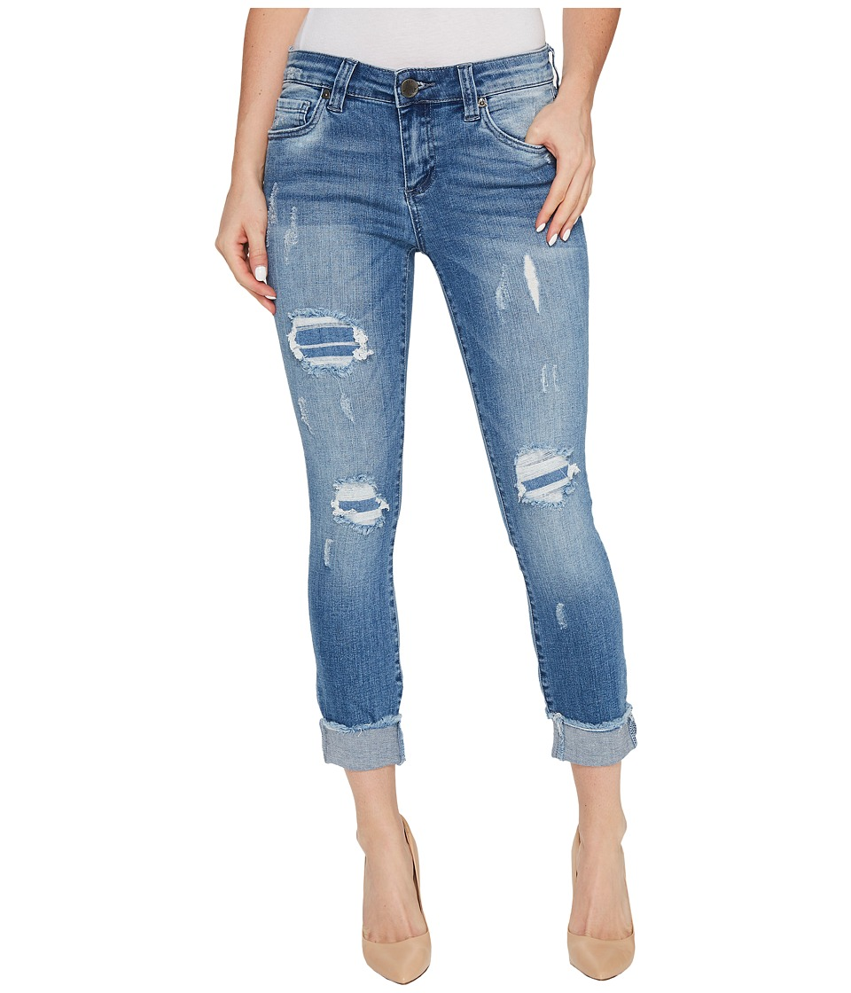 KUT from the Kloth Connie Skinny Crop-Fray Hem in King (King) Women