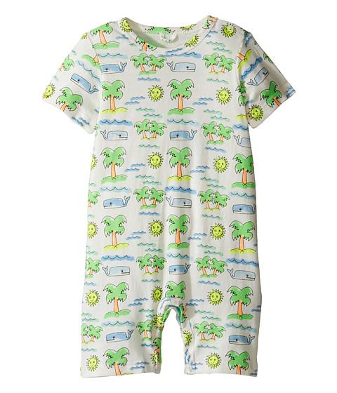 Stella McCartney Kids Kit Fluro Beach Print All-In-One (Infant)