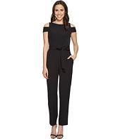 Vince Camuto - Boat Neck Cold Shoulder Jumpsuit