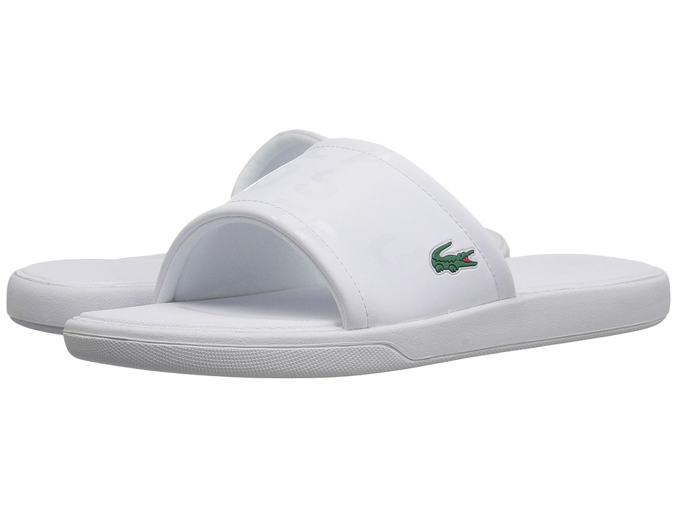 Lacoste L.30 Slide 217 2 (White) Women