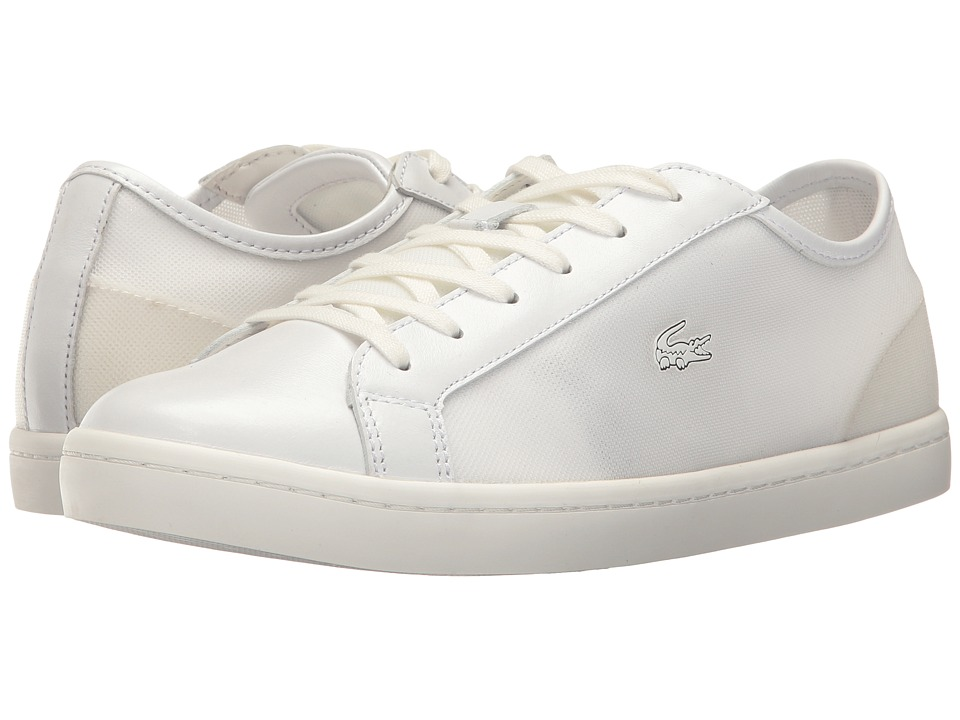 Lacoste Straightset 217 1 (Off-White) Women