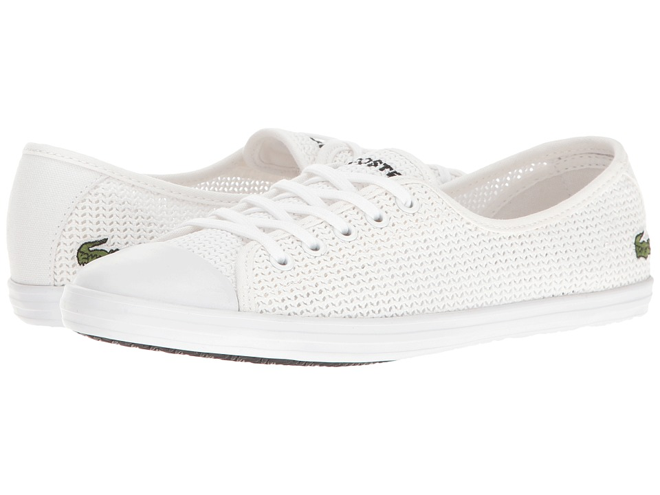 Lacoste ZIANE 217 1 (White) Women