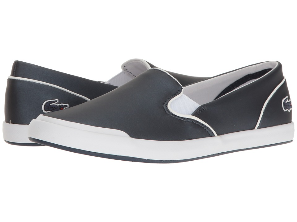 Lacoste Lancelle Slip-On 117 2 (Navy) Women