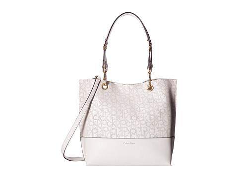 Calvin Klein Unlined Tote - White