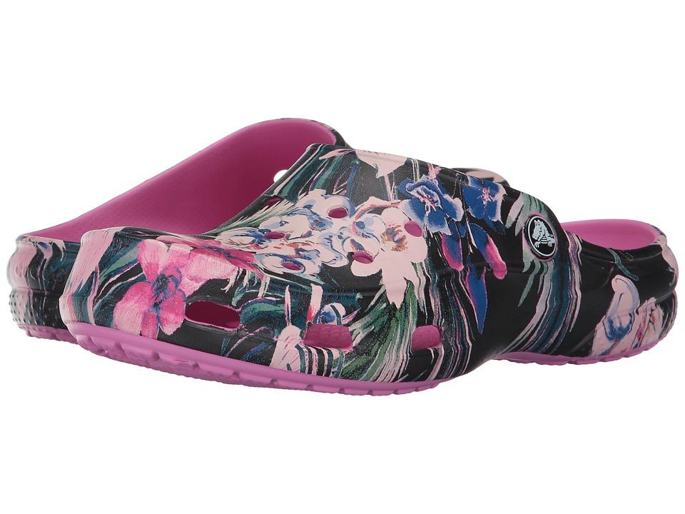Crocs Freesail Graphic Clog (Tropical) Women