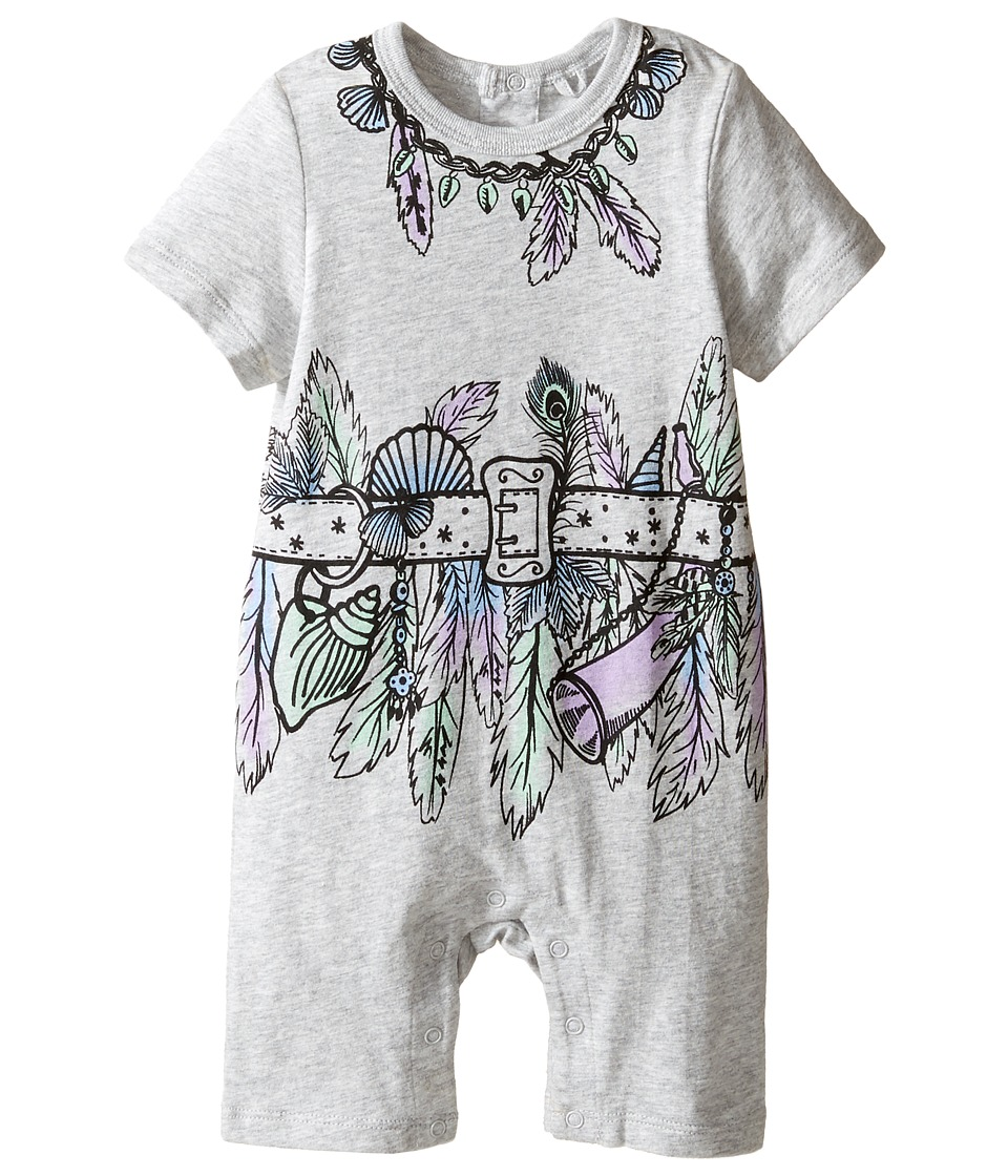 Stella McCartney Kids - Kit All-In-One with Feather and Belt Graphic