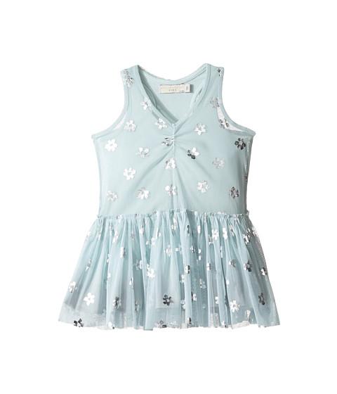Stella McCartney Kids Bell Tulle Dress with Metallic Daisy Print (Toddler/Little Kids/Big Kids)