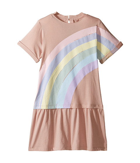 Stella McCartney Kids Jess Drop Waist Rainbow Dress (Toddler/Little Kids/Big Kids)