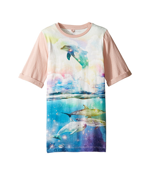 Stella McCartney Kids Hepsie Dolphin Jersey Dress (Toddler/Little Kids/Big Kids)