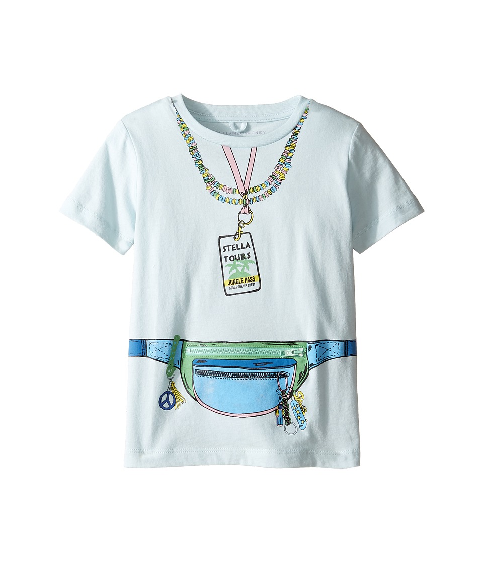 Stella McCartney Kids - Arlow 'Stella Tour' Tee w/ Front Pocket Detail