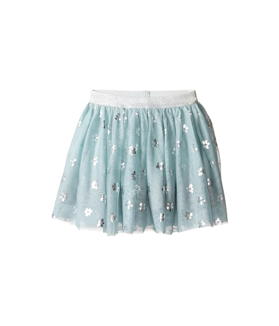 Stella McCartney Kids - Honey Tulle Skirt with Metallic Daisy Print