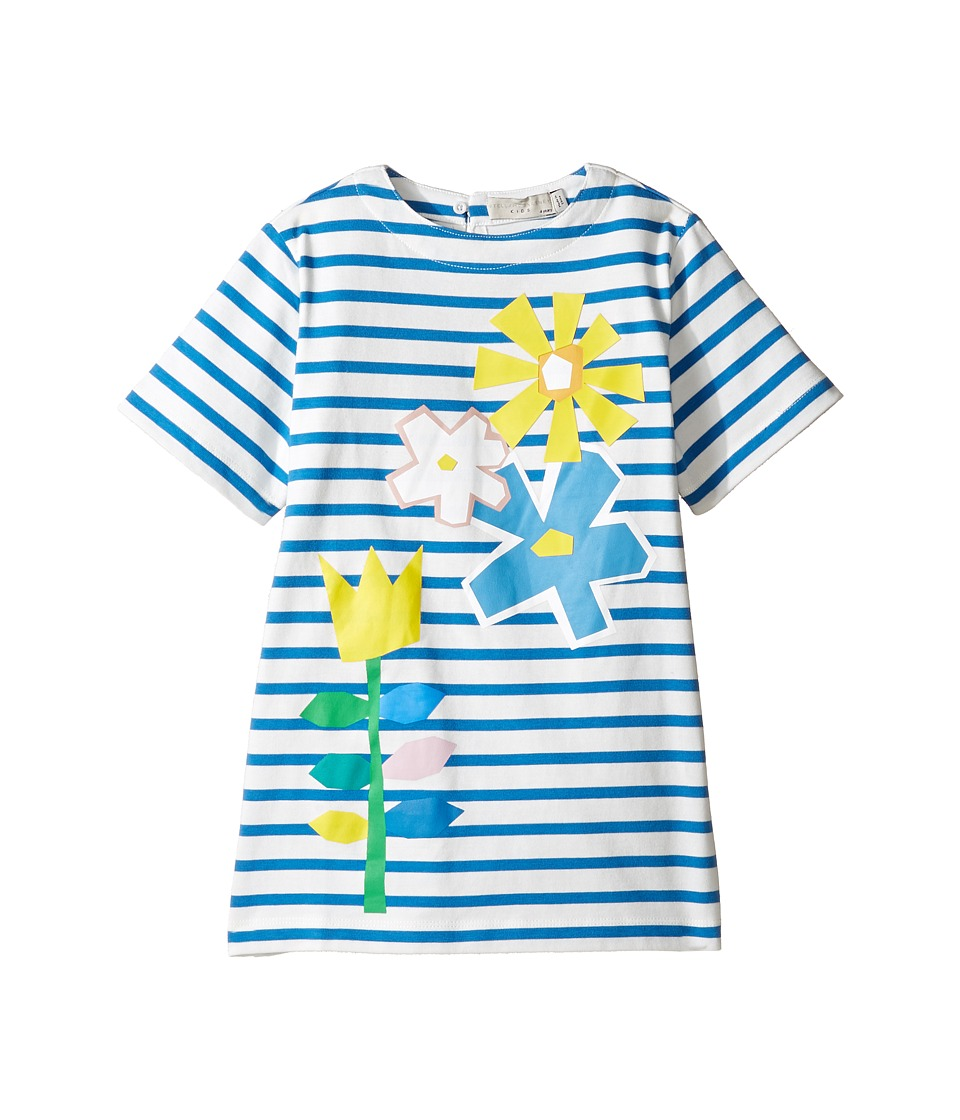 Stella McCartney Kids - Isabella Striped Dress with Floral Graphic