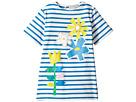 Stella McCartney Kids - Isabella Striped Dress with Floral Graphic (Toddler/Little Kids/Big Kids)