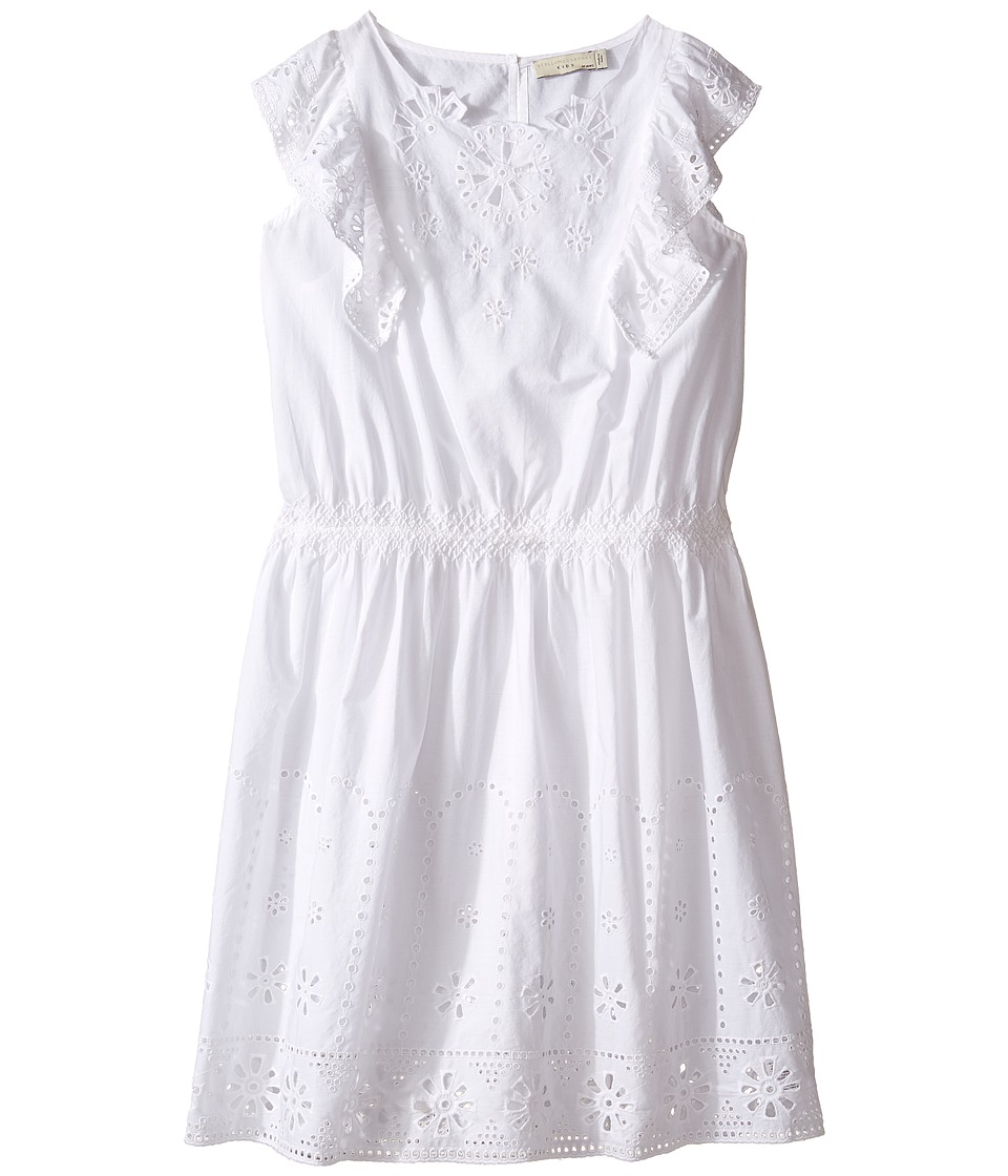 Stella McCartney Kids - Alabama Flutter Sleeve Eyelet Dress