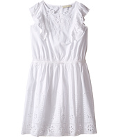 Stella McCartney Kids - Alabama Flutter Sleeve Eyelet Dress (Toddler/Little Kids/Big Kids)