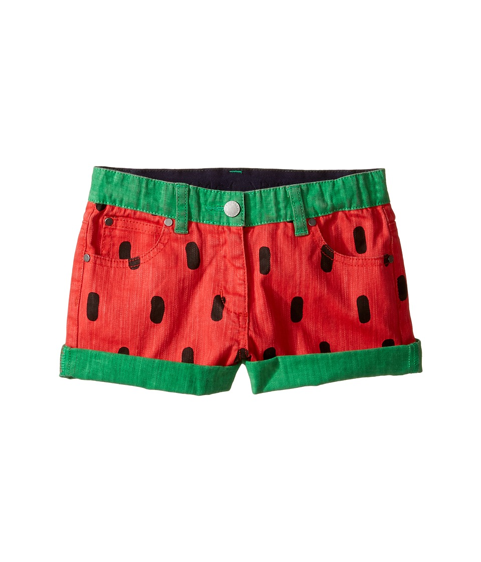 Stella McCartney Kids - Hula Watermelon Denim Shorts