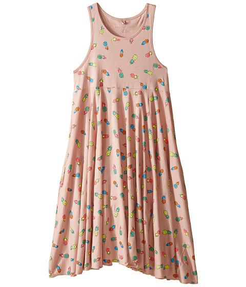 Stella McCartney Kids Zig Skater Dress w/ All Over Pineapple Print (Toddler/Little Kids/Big Kids)