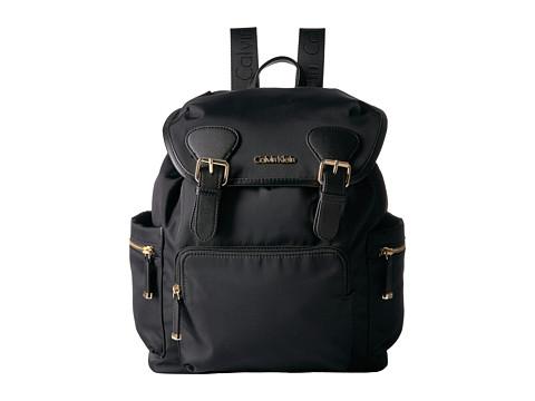 Calvin Klein New Nylon Backpack - Black/Gold