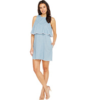 Blank NYC - Raw Edge Ruffle Dress in Frill Seeker