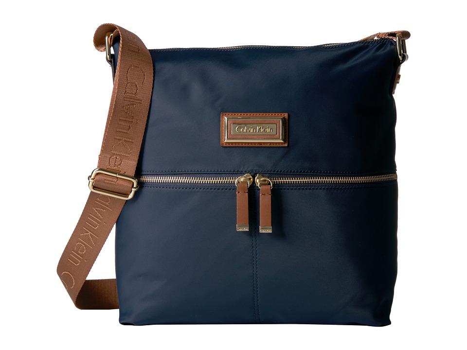 Calvin Klein Nylon Messenger (Navy) Messenger Bags