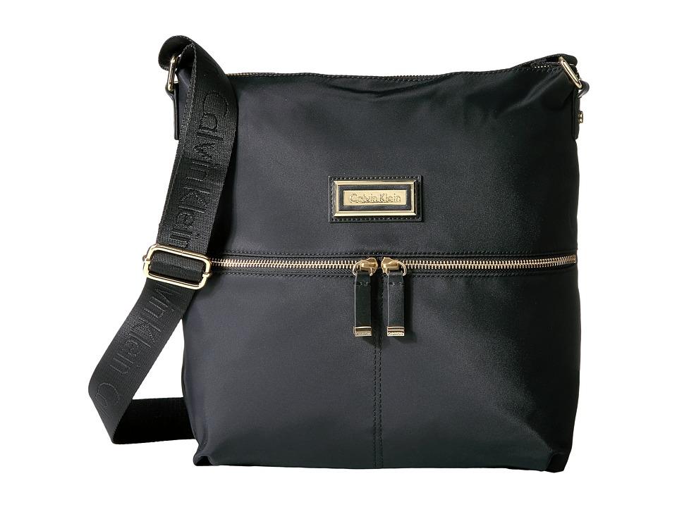 Calvin Klein Nylon Messenger (Black) Messenger Bags