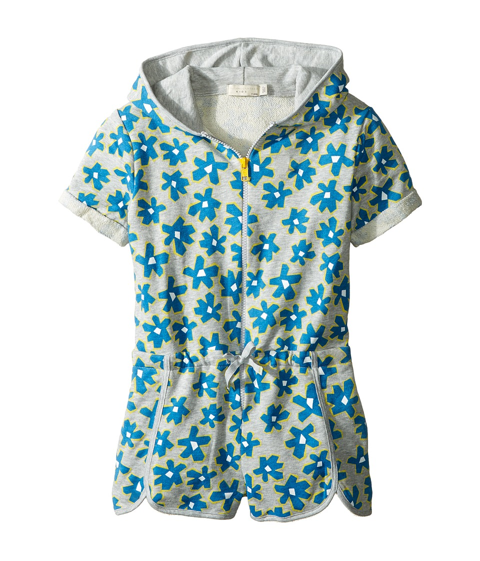 Stella McCartney Kids - Amaya Daisy Print Zip-Up Shorts Romper