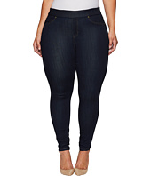 Liverpool - Plus Size Sienna Pull-On Leggings on Silky Soft Denim in Indigo Rinse