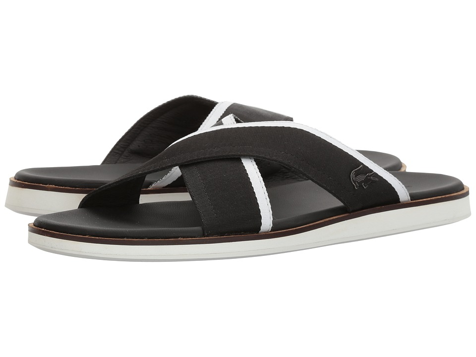 Lacoste Coupri Sandal 117 1 (Black) Men