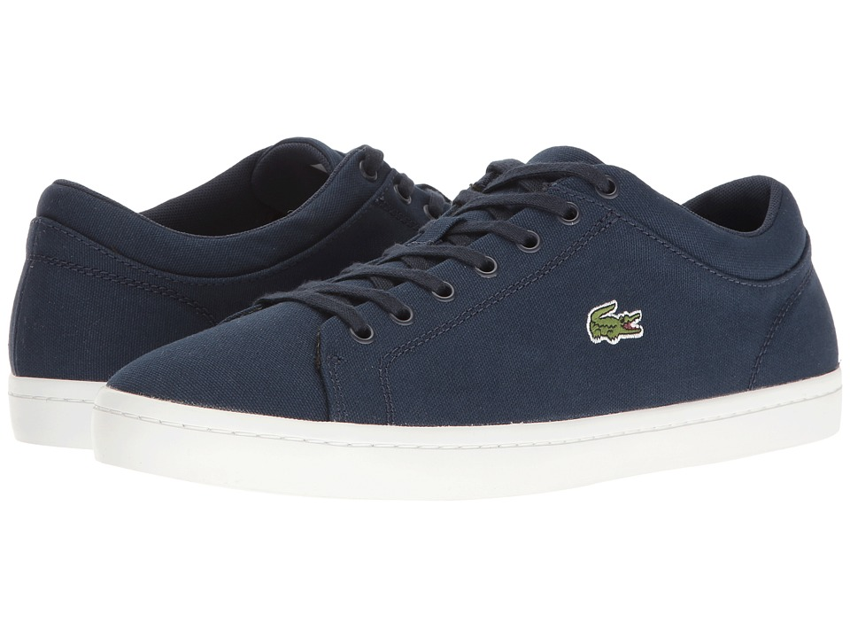 Lacoste Straightset BL 2 (Navy) Men's Shoes
