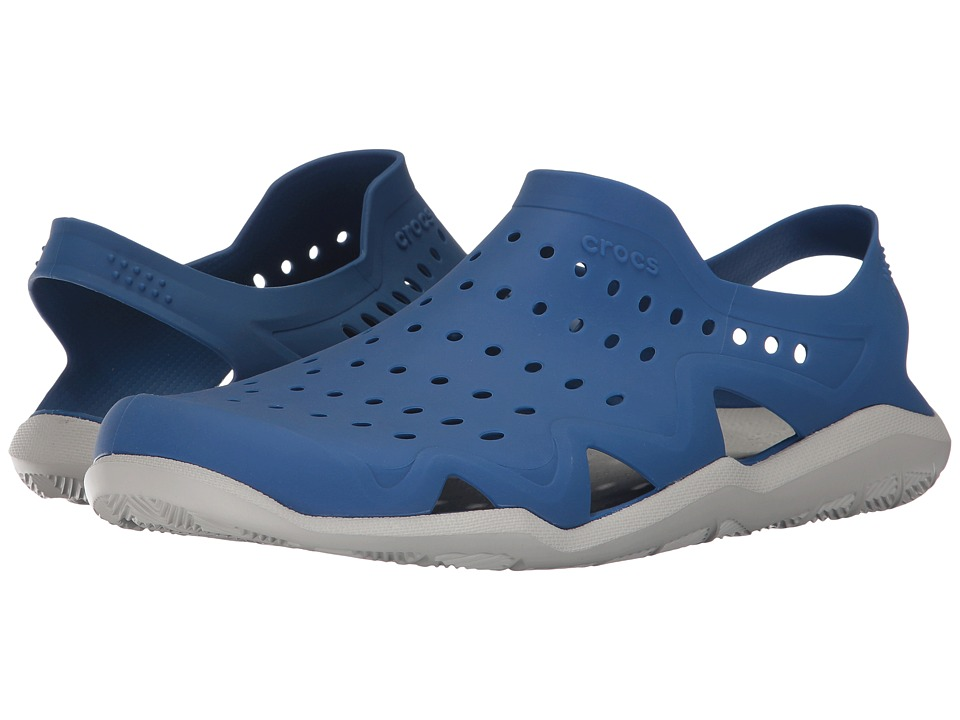 Crocs Swiftwater Wave (Blue Jean/Pearl White) Men