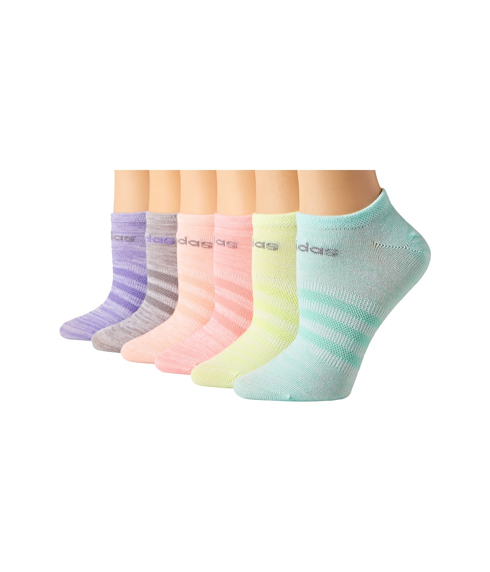 adidas Kids - Superlite 6-Pack No Show Socks