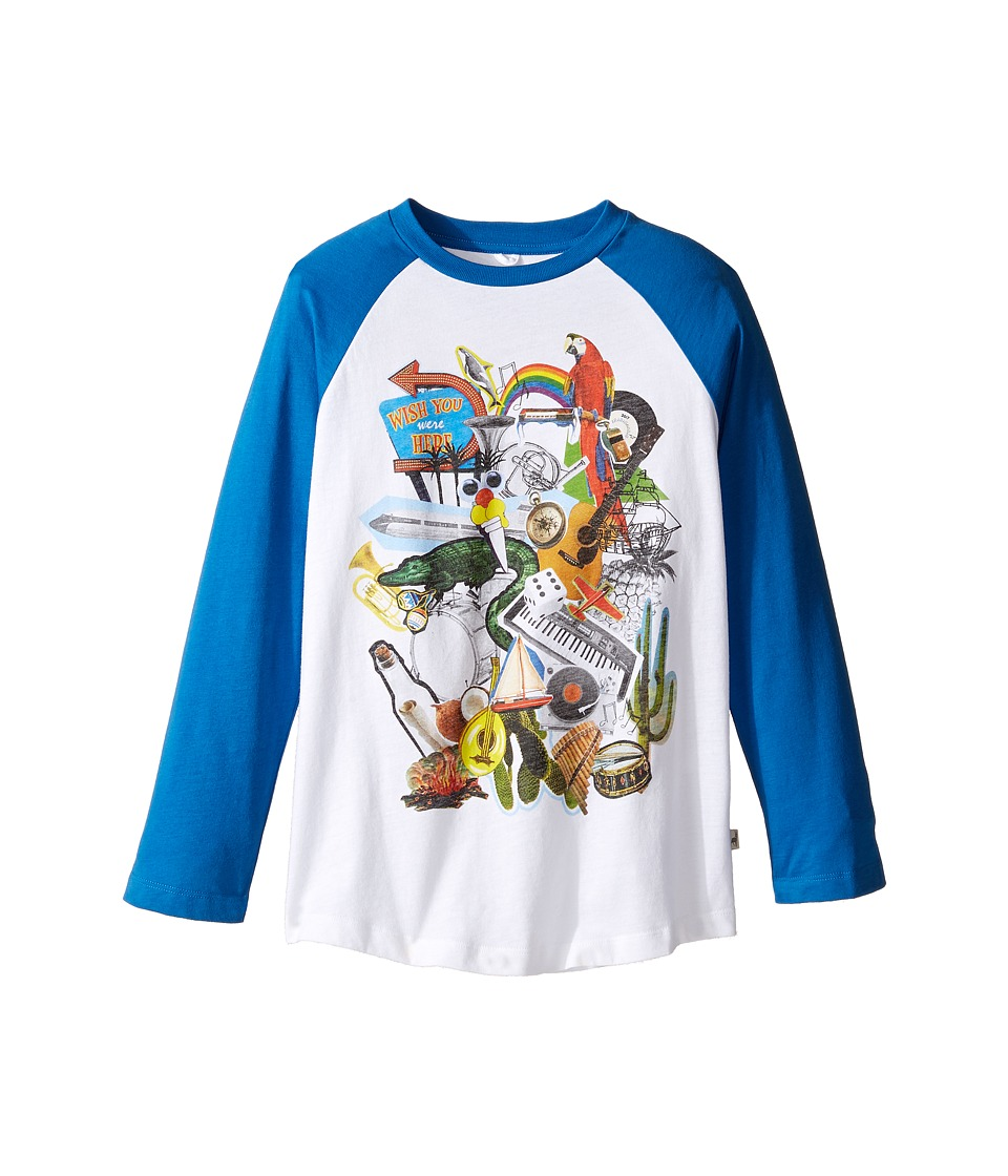 Stella McCartney Kids - Max Multi Graphic Raglan Tee