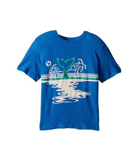 Stella McCartney Kids Arrow Beach Whale Lightweight Tee (Toddler/Little Kids/Big Kids)