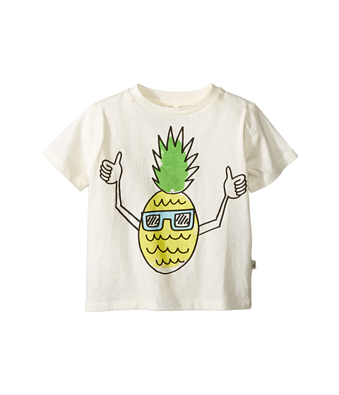 Stella McCartney Kids Arlo Pineapple with Sunglasses Tee (Toddler/Little Kids/Big Kids)