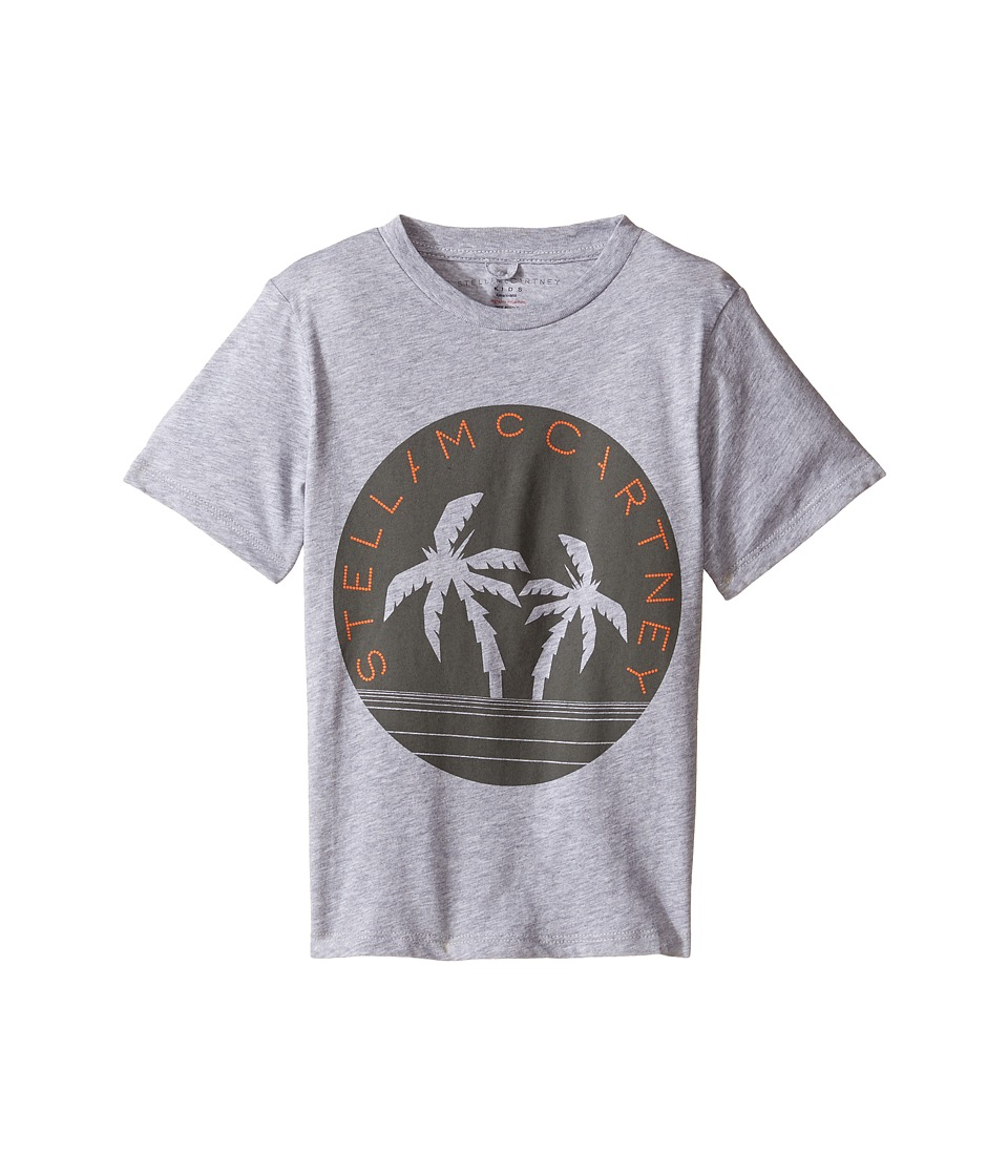 Stella McCartney Kids - Arrow Logo Tee with Palm Trees