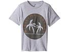 Stella McCartney Kids - Arrow Logo Tee with Palm Trees (Toddler/Little Kids/Big Kids)