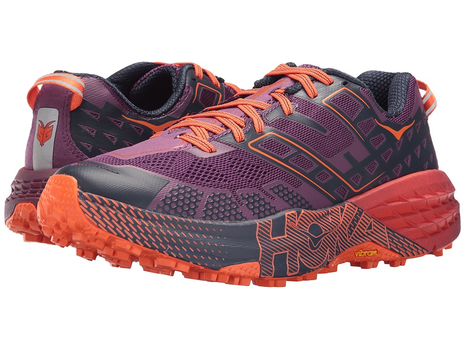 Hoka One One Speedgoat 2 (Plum/Peacoat) Women