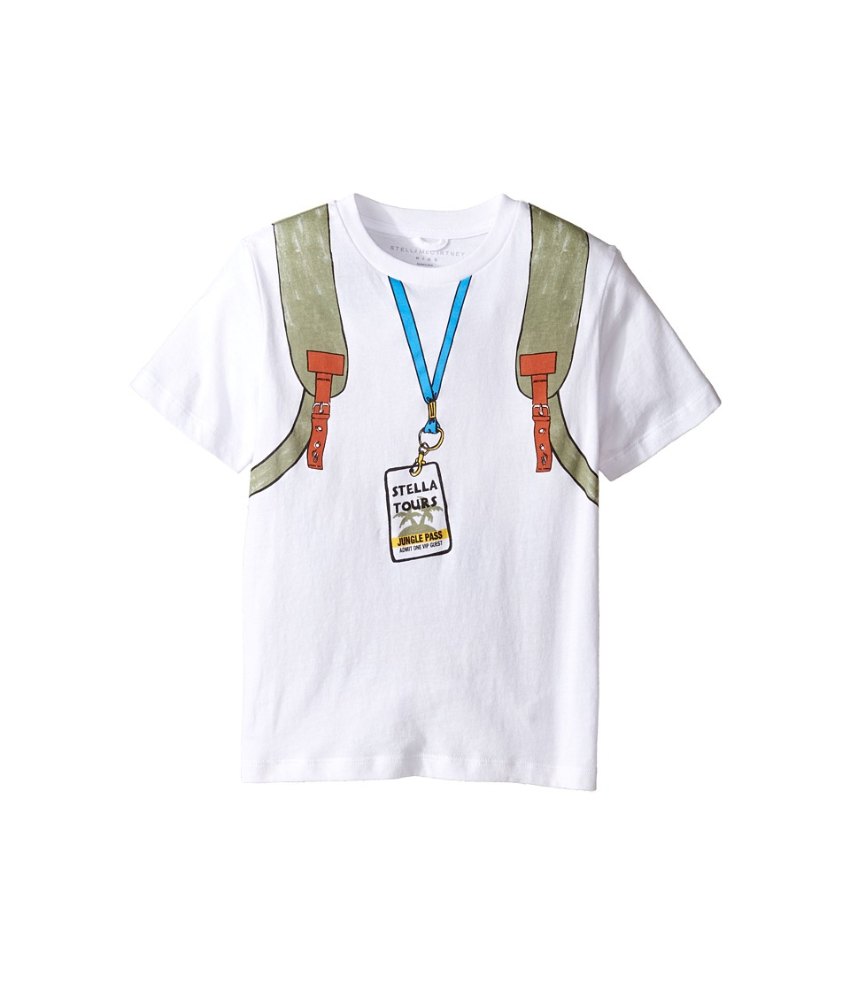 Stella McCartney Kids - Arrow Explorer Backpack Tee with Zip Detail