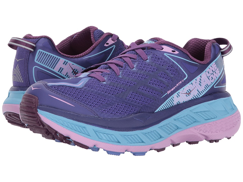 Hoka One One Stinson ATR 4 (Deep Blue/Sky Blue) Women