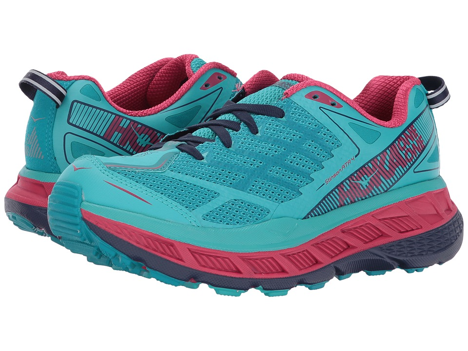 Hoka One One Stinson ATR 4 (Ceramic/Tile Blue) Women