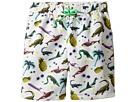 Stella McCartney Kids - Taylor Swim Sticker Print Swim Shorts (Toddler/Little Kids/Big Kids)