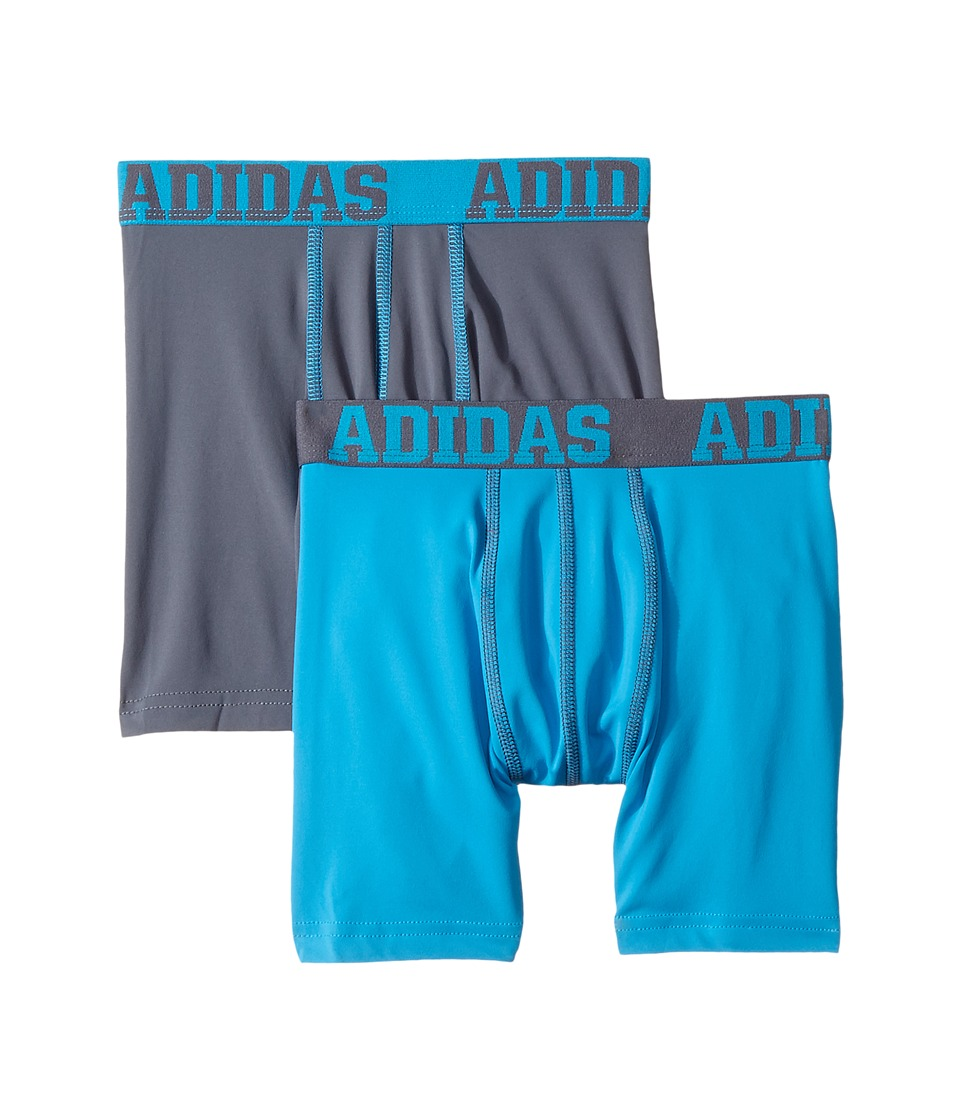 adidas Kids - Sport Performance Climalite 2-Pack Boxer Brief
