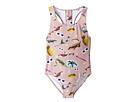 Stella McCartney Kids - Imogen Swim Sticker Print One-Piece Swimsuit (Toddler/Little Kids/Big Kids)