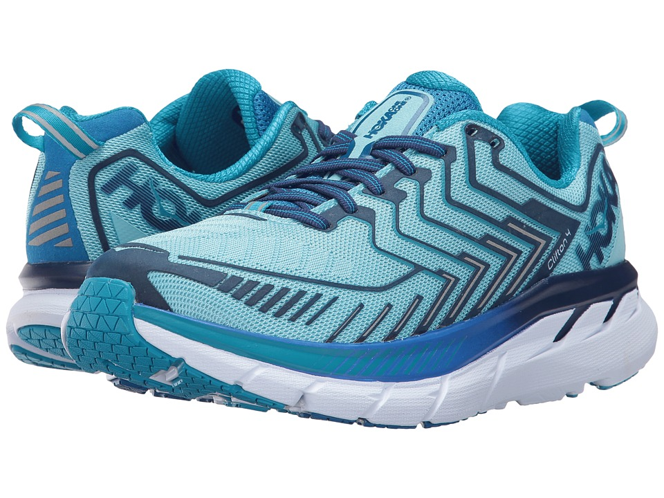 Hoka One One Clifton 4 (Blue Topaz/Imperial Blue) Women