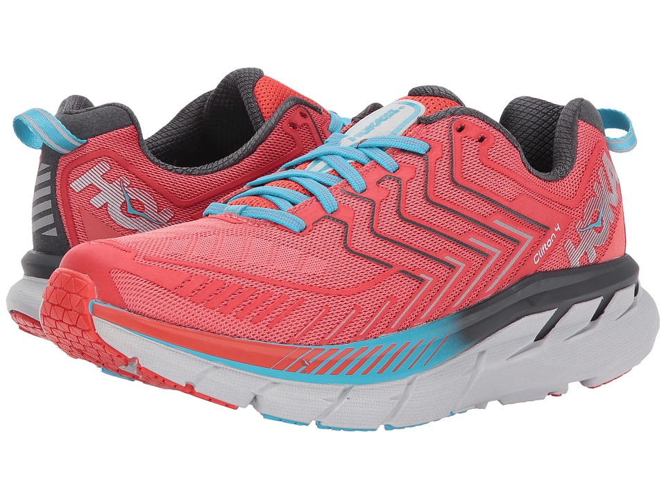 Hoka One One Clifton 4 (Dubarry/Grenadine) Women