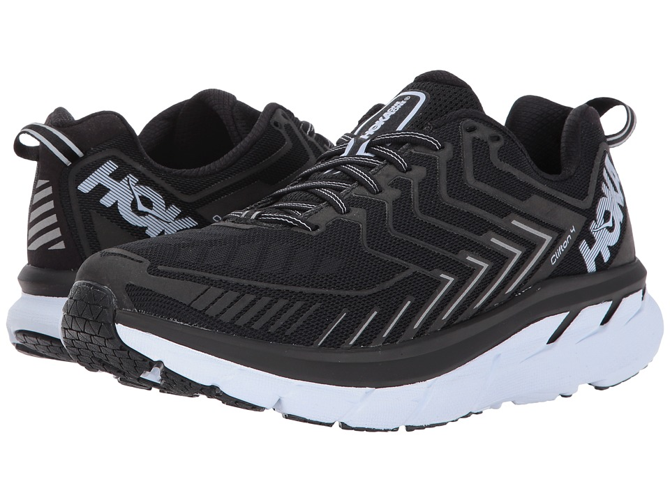 Hoka One One Clifton 4 (Black/White) Women