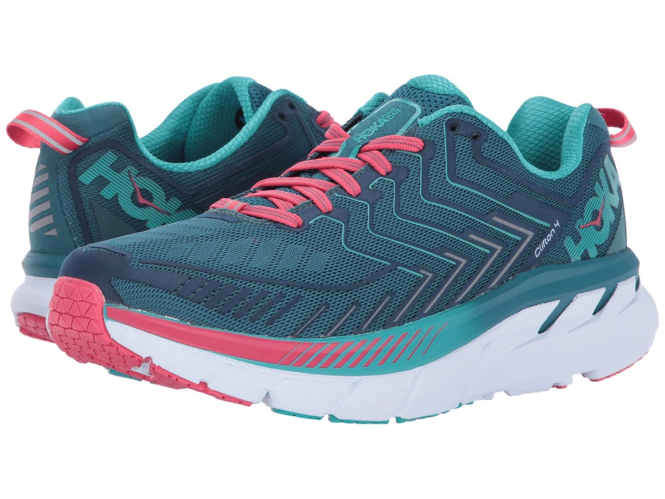 Hoka One One Clifton 4 (Blue Coral/Ceramic) Women