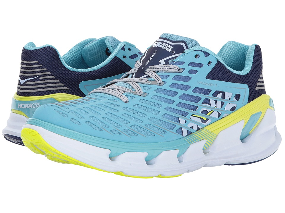 Hoka One One Vanquish 3 (Blue Topaz/Blueprint) Women